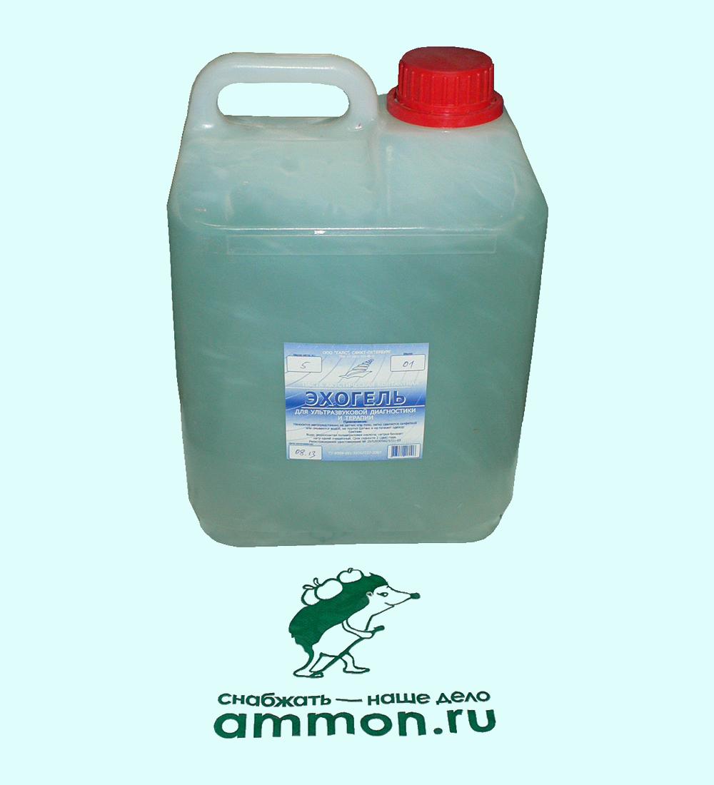 Эхогель, гель УЗИ средней вязкости, 5 кг