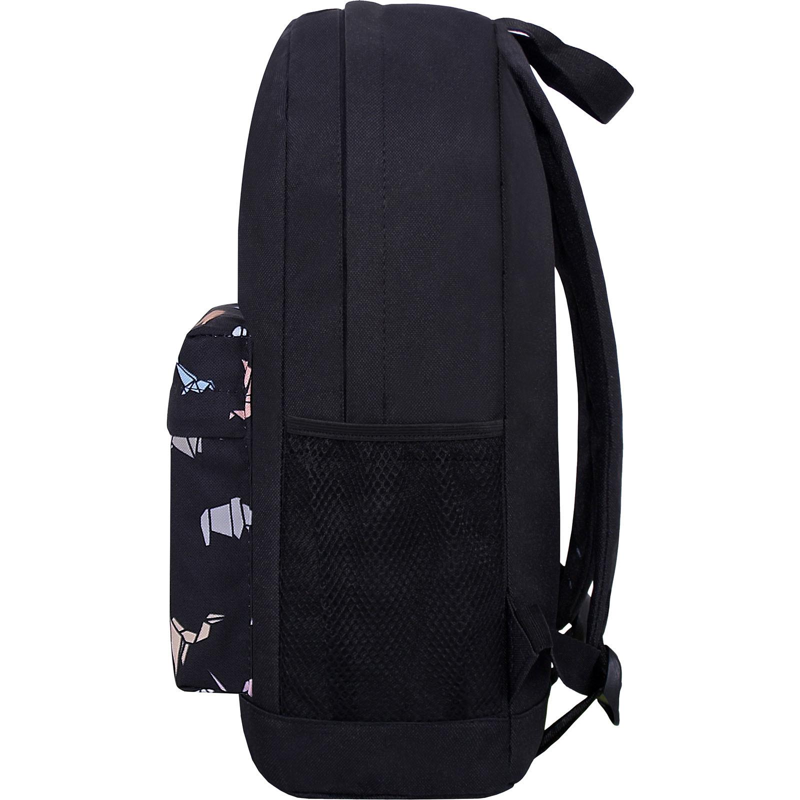 Рюкзак Bagland Молодежный W/R 17 л. Чёрный 752 (00533662) фото 3