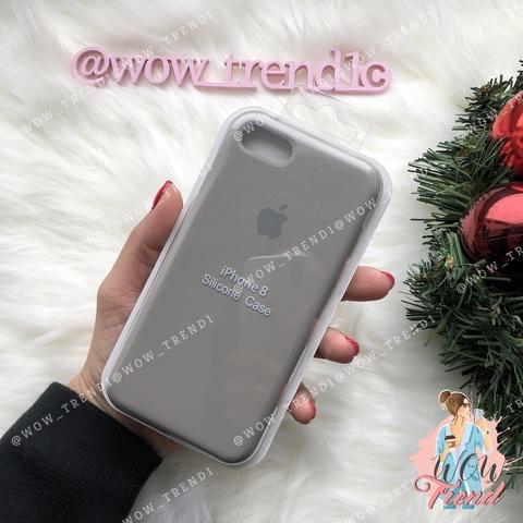 Чехол iPhone 7/8 Silicone Case /pebble/ ракушка 1:1