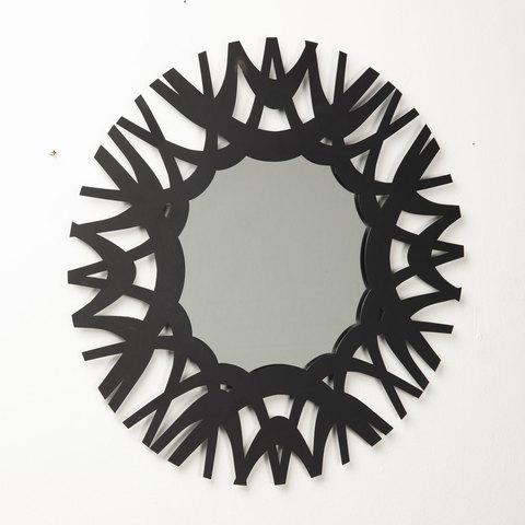 Зеркало Mitchell 60x60 черное
