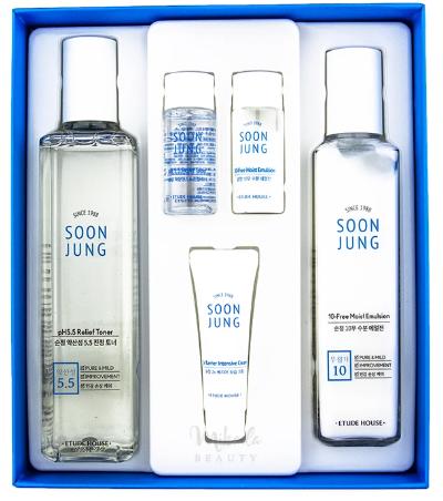 Etude House Soon Jung Skin Care Set 2 Kinds набор для лица