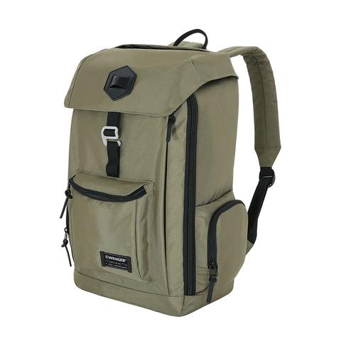 Городской рюкзак оливковый 22 л WENGER 5657656408