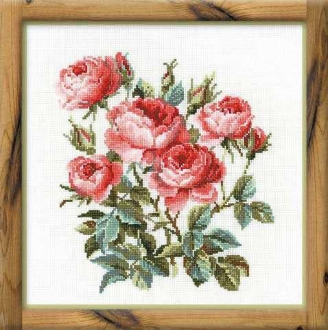 Набор для вышивания крестом «Садовые розы» (1046)