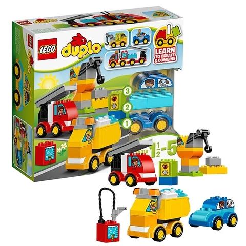 LEGO Duplo: Мои первые машинки 10816 — My First Cars and Trucks — Лего Дупло