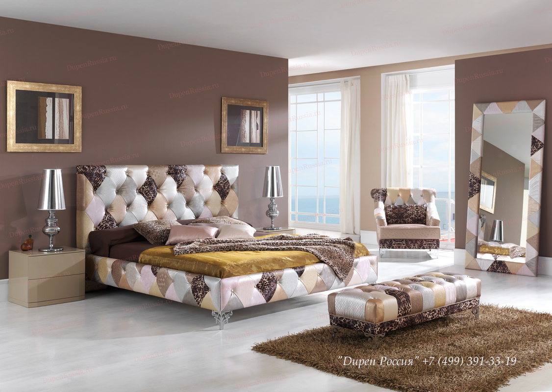 Спальня Dupen 870 TIFFANY, Кресло DUPEN B-8