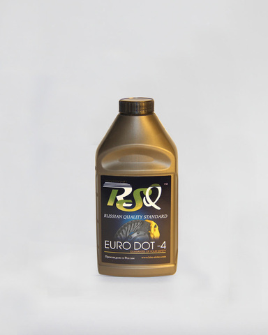 Тормозная жидкость EURO DOT-4 ТМ RSQ-Professional