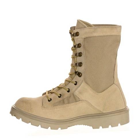Ботинки кожаные с высокими берцами DAVE MARSHALL HOWARD D-8