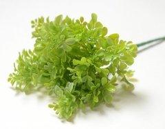 Искусственная зелень, букет 7 веток, 31 см.