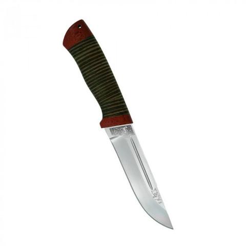 Нож Бекас кожа, 100х13м