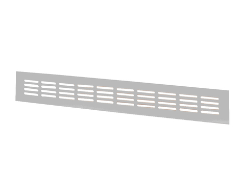 Решетка Шамрай МВМС 600х100 мм Серебро