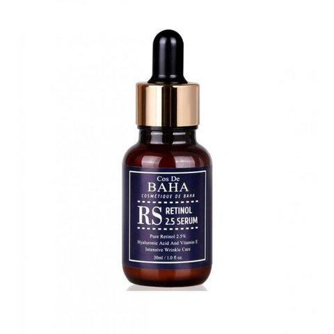Cos De BAHA Сыворотка омолаживающая с ретинолом - Retinol 2.5 serum, 30мл