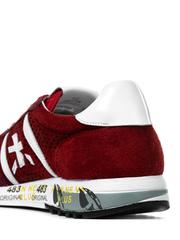 Замшевые кроссовки Premiata Eric 4739 с перфорацией