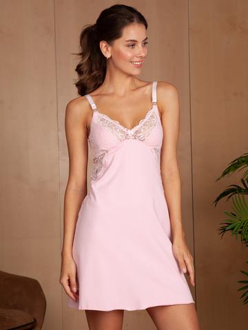 Vivamama. Сорочка для беременных и кормящих Izabel, розовый