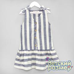 Платье (текстиль, бантики)