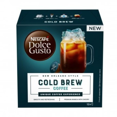 Nescafe Dolce Gusto Cold Brew (12 капсул)