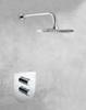 Встраиваемый термостатический смеситель для душа URBAN CHIC 218712S на 2 выхода - фото №2