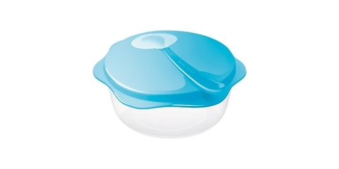 Дорожный набор: миска с ложечкой Tescoma BAMBINI