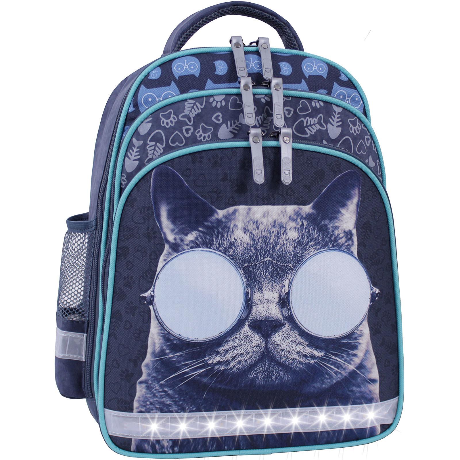 Рюкзак школьный Bagland Mouse 321 серый 611 (0051370) фото 2