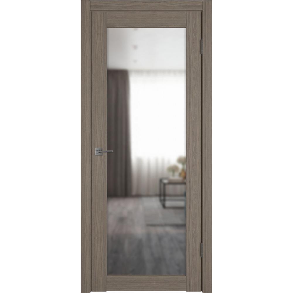 Двери с зеркалом Межкомнатная дверь экошпон VFD 32X brun oak с зеркалом с одной стороны atum-pro-x32-brun-oak-mirror.jpg