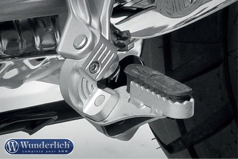 Комплект занижения подножек водителя BMW R 850/1100/1150 GS, серебро