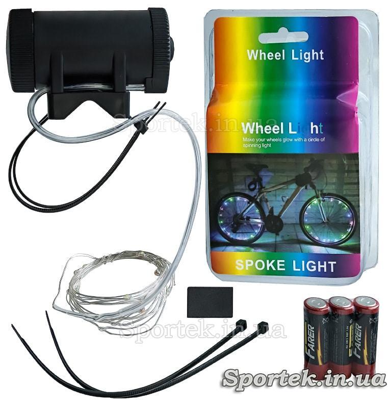 Диодная подсветка колес (светлячки)