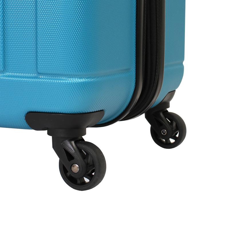 Чемодан WENGER USTER, цвет голубой, 34x22x55 см, 37 л. (WGR6297343154).