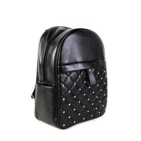Женский средний рюкзак 23х28,5х12 см чёрный 4798-1