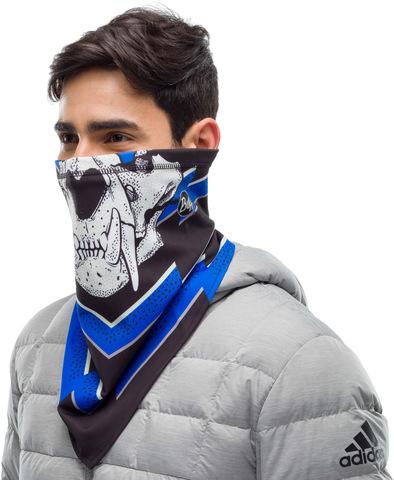 Шарф-труба сноубордическая Buff Bandana Tech Fleece T-Knuckle Grey фото 2