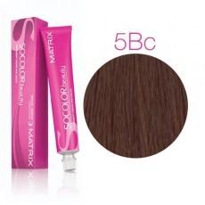 Matrix SOCOLOR.beauty: Brown/Blonde Copper 5BC светлый шатен коричнево-медный, краска стойкая для волос (перманентная), 90мл