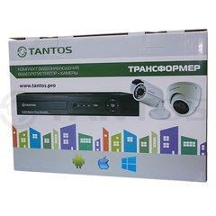 Комплект видеонаблюдения на 2 камеры TANTOS Фазенда #1