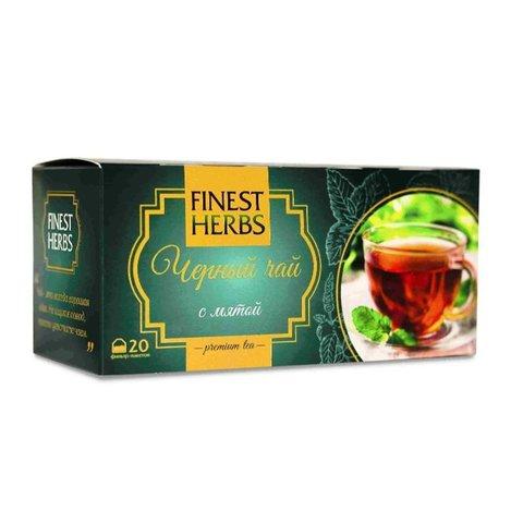 Крымский чай «Черный чай с мятой. Premium Tea»™Крымские традиции