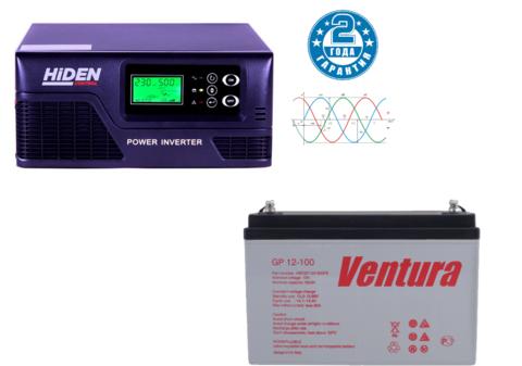 Комплект ИБП HIDEN CONTROL HPS20-0812+VENTURA GP 12-100