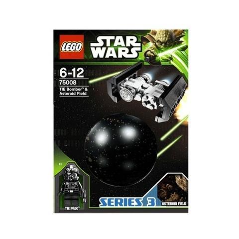 LEGO Star Wars: Имперский TIE-бомбардировщик и поле астероидов 75008 — TIE Bomber & Asteroid Field — Лего Звездные войны Стар Ворз