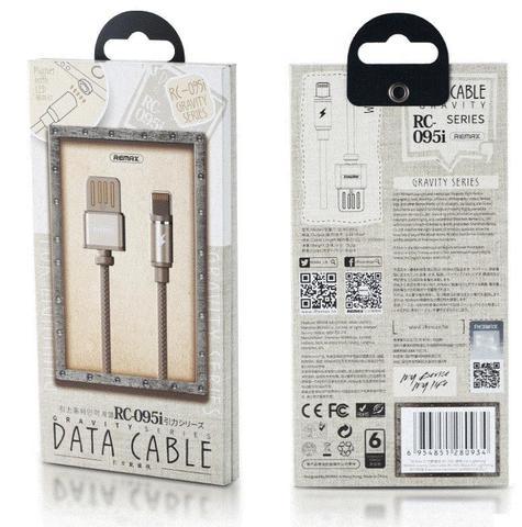 Магнитный кабель usb REMAX -095i  Lightning USB для iPhone ipad