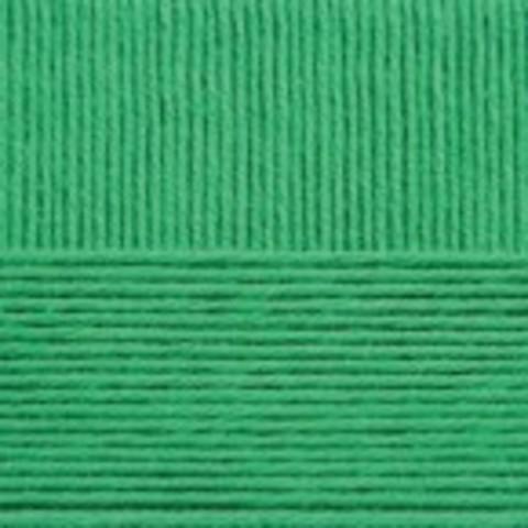 Купить Пряжа Пехорка Детская новинка Код цвета 480-Яр.зелень | Интернет-магазин пряжи «Пряха»
