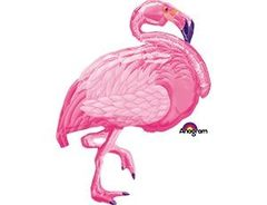 А Фигура, Фламинго розовый, 35