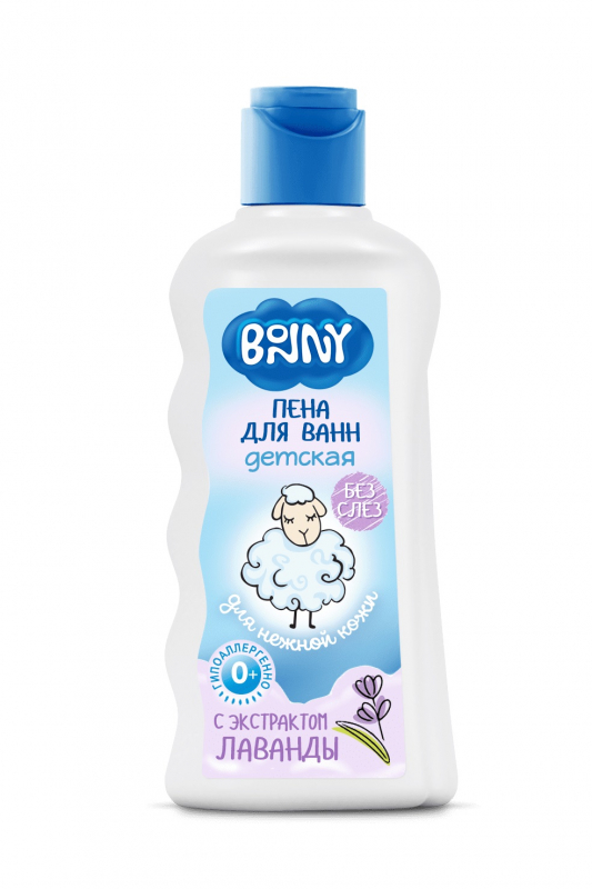 BONNY - Пена для ванн с натуральным экстрактом лаванды 250 мл.