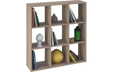 Стеллаж Polini Home Smart Кубический 9 секции, дуб
