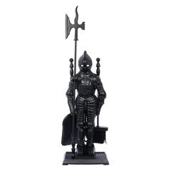 Набор «Рыцарь» 3 предмета на подставке, черный