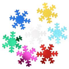 снежинки-конфети-цветные