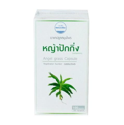 Капсулы Я Пак Кинг Angel Grass (Пекинская трава) Kongka Herbs, 100 капсул.