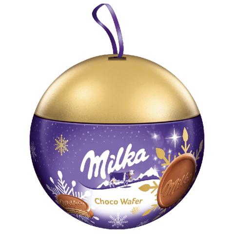 Вафли Christmas Milka Choco Wafer 180 гр