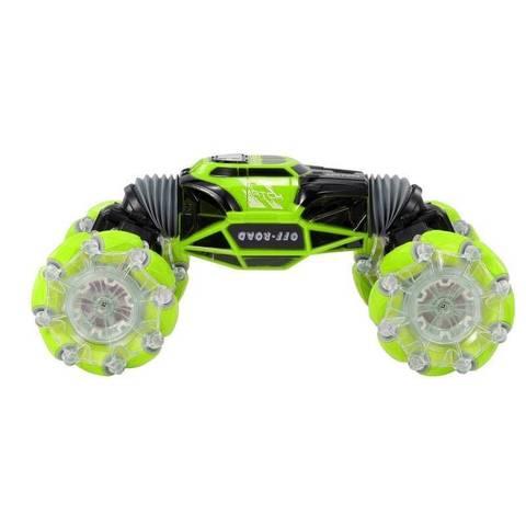 Машинка - перевертыш управление жестами SkidDing RC Stunt Car Hyper  (зеленый)