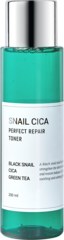Тонер для лица с муцином улитки и центеллой  ESTHETIC HOUSE Snail Cica Perfect Repair Toner, 200 мл