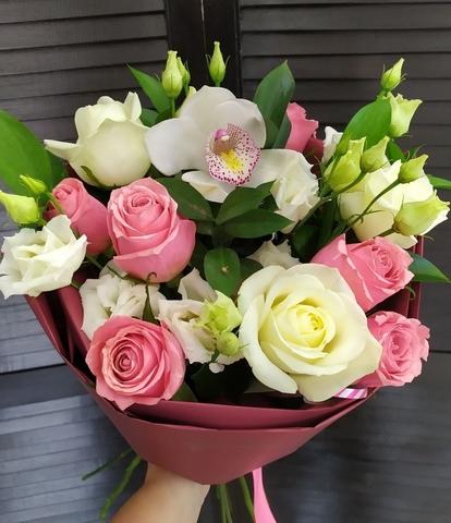 Сборный букет из цветов #1839