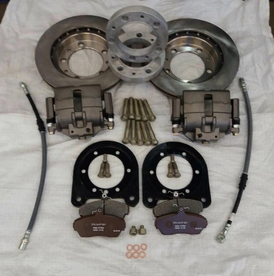 Комплект установочный дисковые тормоза военный редукторный мост