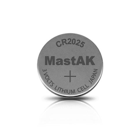Батарейки MastAk CR 2025