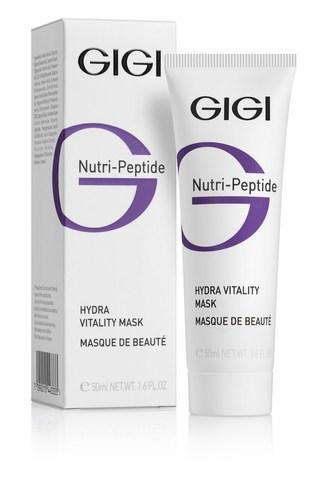 GiGi Nutri-Peptide Hydra Vitality Mask - Увлажняющая маска красоты, 50 мл.