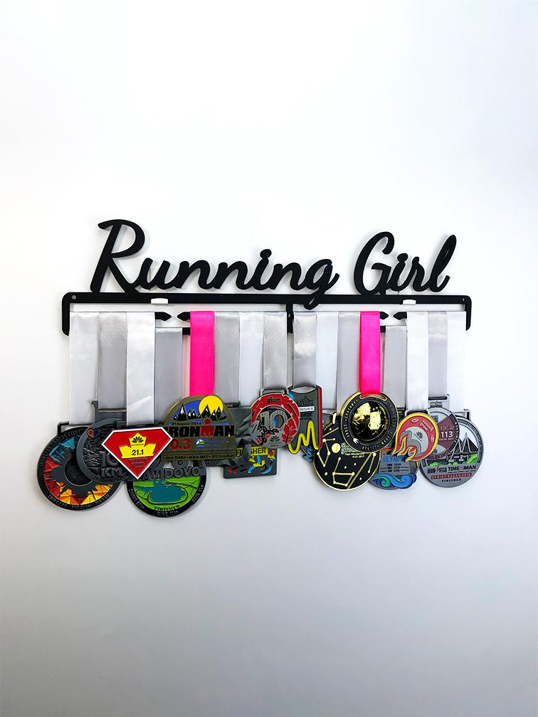 Медальница Running Girl