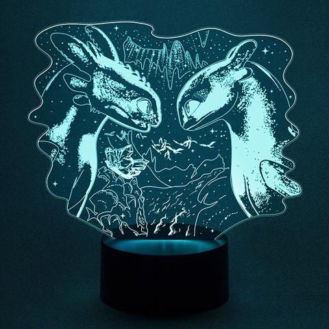 Беззубик и Дневная фурия - Как приручить дракона